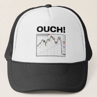 OUCH! Dow Jones Industrial Average Chart 8/11 Trucker Hat