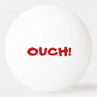 ¡Ouch ese daños! El hablar Pelota De Ping Pong