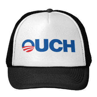 Ouch Obama Trucker Hat