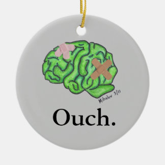 """""""Ouch"""" ornament"""