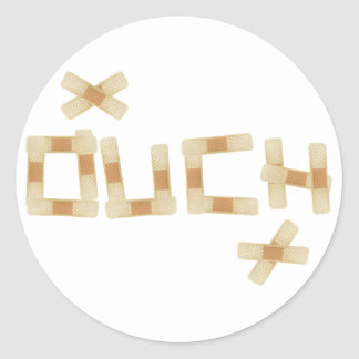 Ouch Sticker