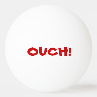 Ouch That Hurts! Talking Ping Pong Ball