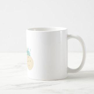 Ouch vendaje taza de café