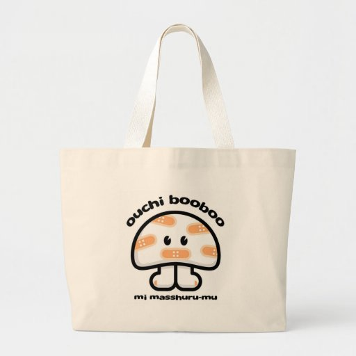 ouchi booboo tote bags