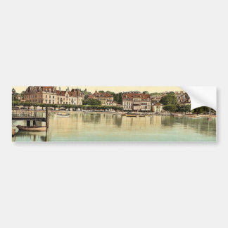 Ouchy, Hotel de Chateaux, Geneva Lake, Switzerland Bumper Stickers