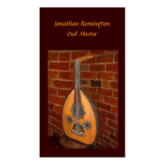 Oud Master Business Card
