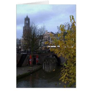 Oude Gracht, Utrecht Card