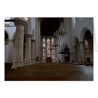 Oude Kerk, Delft Card