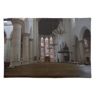Oude Kerk, Delft Cloth Place Mat