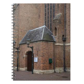 Oude Kerk Delft Spiral Notebooks