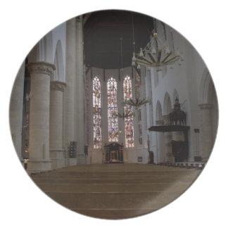 Oude Kerk, Delft Party Plates