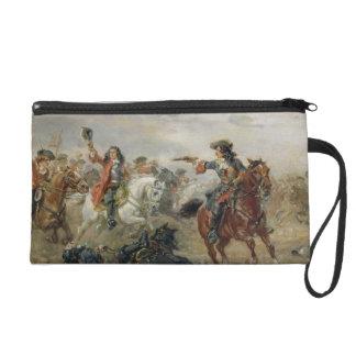 Oudenaarde - A Cavalry Skirmish (oil on panel) Wristlet