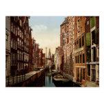 Oudezijds Kolk Amsterdam Post Card