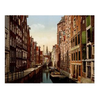 Oudezijds Kolk Amsterdam Postcard