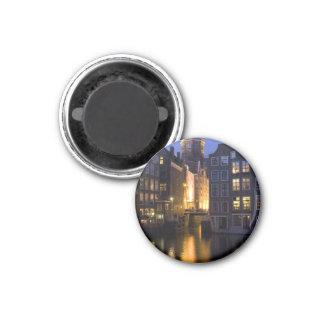 Oudezijds Kolk in Amsterdam Netherlands Refrigerator Magnet