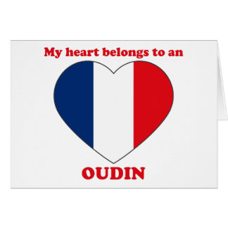Oudin Greeting Card