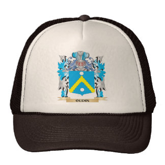 Oudin Coat of Arms - Family Crest Trucker Hat