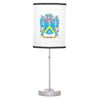 Oudin Coat of Arms - Family Crest Table Lamp