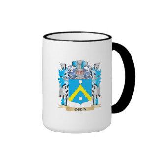 Oudin Coat of Arms - Family Crest Ringer Coffee Mug