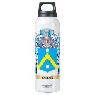 Oudin Coat of Arms - Family Crest 16 Oz Insulated SIGG Thermos Water Bottle