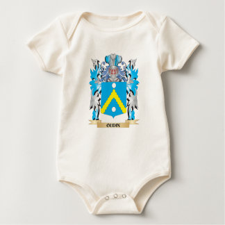 Oudin Coat of Arms - Family Crest Bodysuits