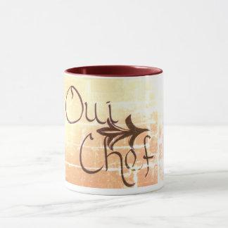 Oui Chef Coffee/Tea Mug
