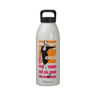 Oui - Original Designs by Dominic Drinking Bottle