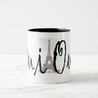 Oui, Oui! Two-Tone Coffee Mug