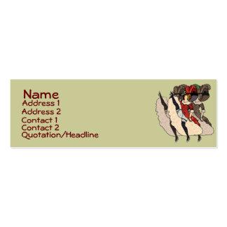 Oui! Oui! Oui! Profile Cards Mini Business Card