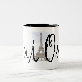Oui, Oui! Two-Tone Coffee Mug
