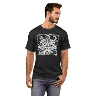 Ouija Board Decontrol Shirt. T-Shirt