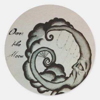 Ouija Moon Decals / Stickers