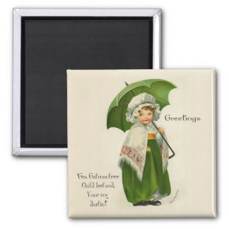 Ould Ireland Greetings Magnet