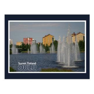 OULU postcard