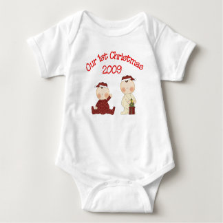 Our 1st Christmas 2009 Baby Bodysuit