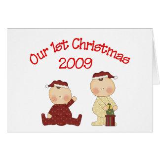 Our 1st Christmas 2009 Card