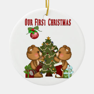 Our 1st Christmas Holiday Ornament