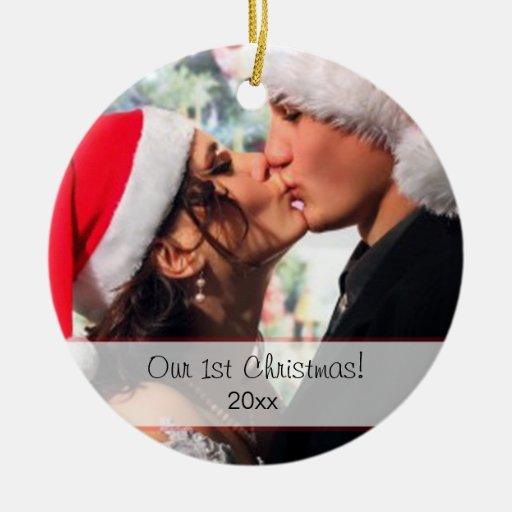 Our 1st Christmas Christmas Tree Ornaments