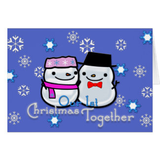 Our 1st Christmas Together Card