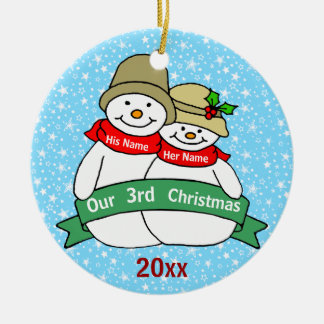 Our 3rd Christmas Ceramic Ornament