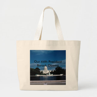 Our 44th president Barack Obama Pr... - Customized Jumbo Tote Bag