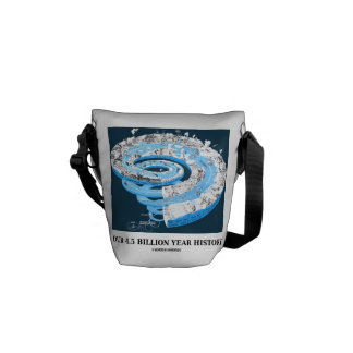 Our 4 5 Billion Year History Geological Time Courier Bag