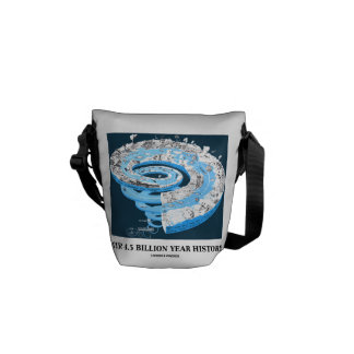 Our 4 5 Billion Year History Geological Time Commuter Bag