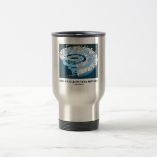 Our 4.5 Billion Year History (Geological Time) Travel Mug
