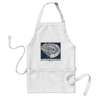 Our 4.5 Billion Year History (Geological Timeline) Adult Apron