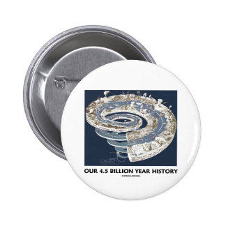 Our 4.5 Billion Year History (Geological Timeline) Pins