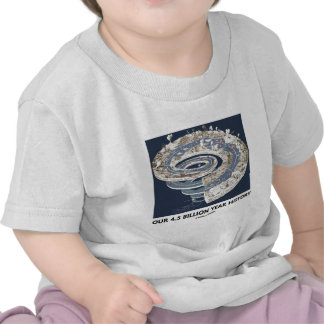 Our 4.5 Billion Year History (Geological Timeline) Shirt