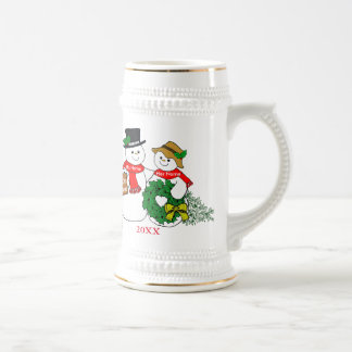 Our 50th Christmas Beer Stein
