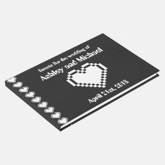 Our 8-Bit Hearts in Black  Guest Book
