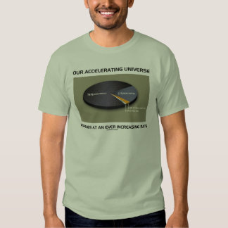 Our Accelerating Universe Expands Ever Increasing T-shirt